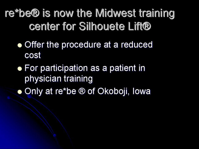 Title Slide for Silhouette-Lift®.