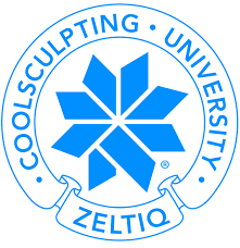 photo of coolsculpting® university certified logo