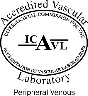 ICAVL logo for peripheral vascular certification