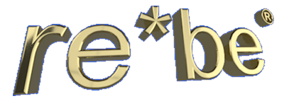 image of the re*be logo